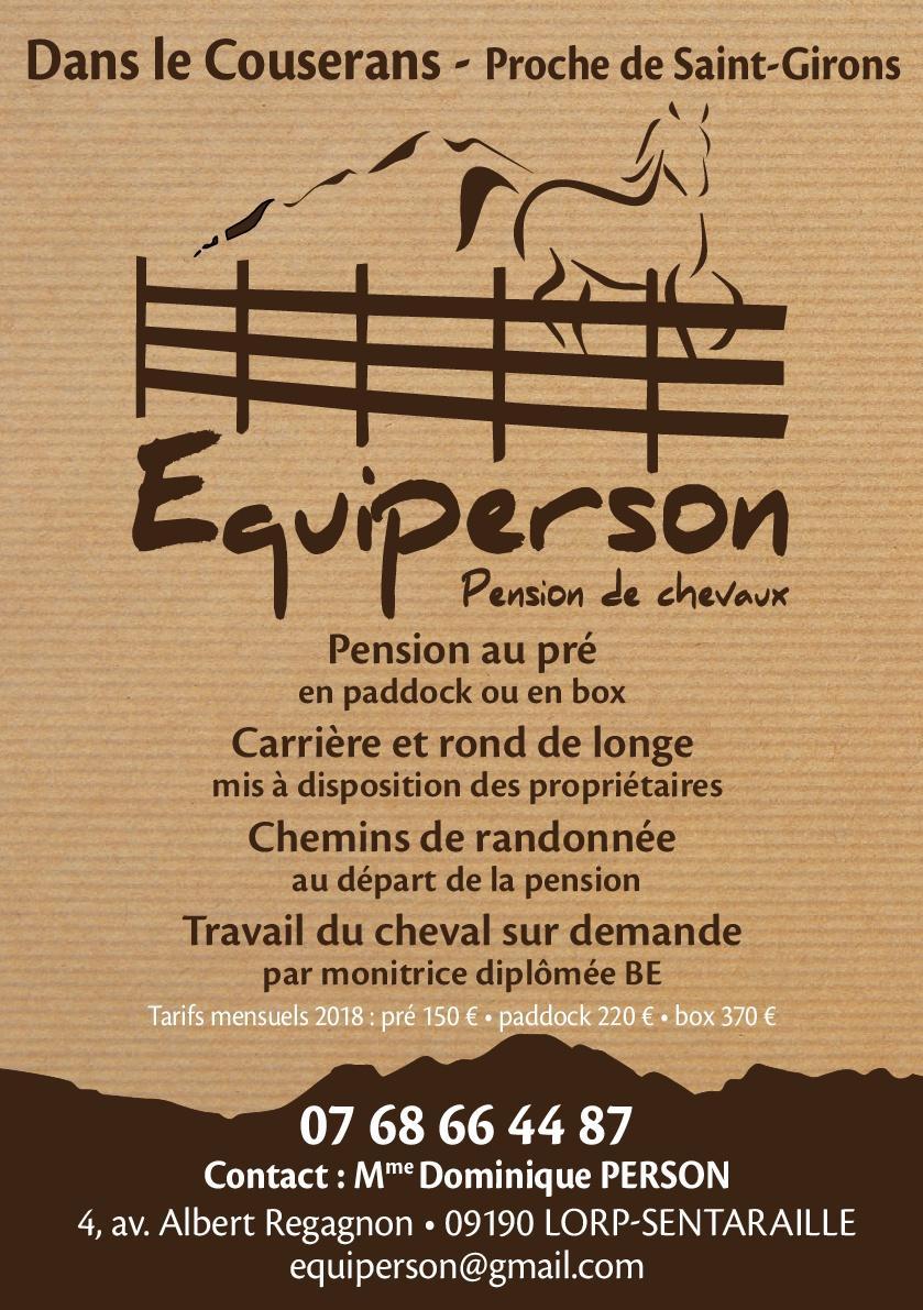 photo de Pension équine EquiPerson